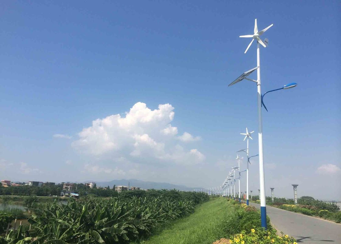 Off Grid Horizontal Wind Turbine For Residential With Battery Charge Controller
